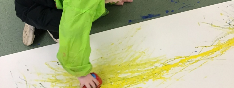 Mark Making in Paints