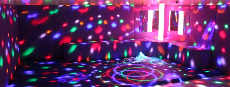 Exploring the Sensory Room
