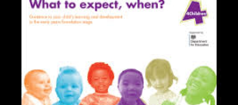What to expect,when? Guide for Parents