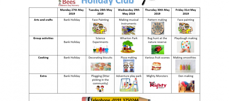 May Holiday Club